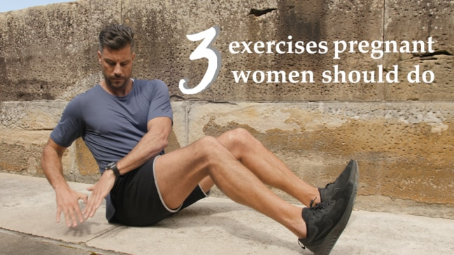 Sam Wood: 3 exercises for pregnant women