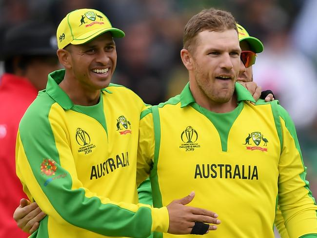 Aaron Finch's resurgence has piled the pressure on Usman Khawaja.