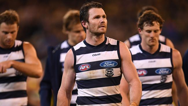 Barry Hall is expecting a big night from Patrick Dangerfield.