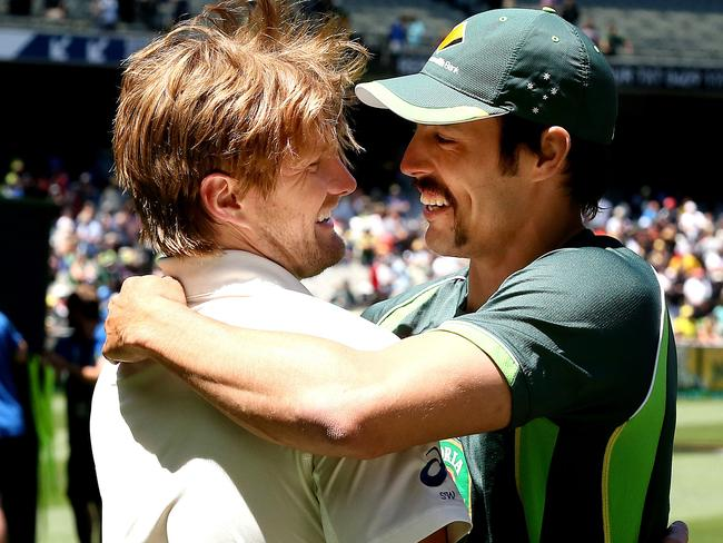 Shane Watson and Mitchell Johnson were two key figures in the Homework-gate scandal.