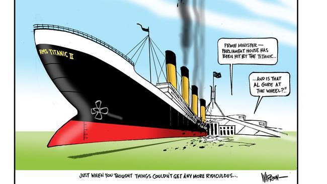 Cartoon: Warren Brown