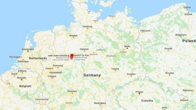 hloss Holte-Stukenbrock is a small town located in northwest Germany. Picture: Google Maps Source:news.com.au
