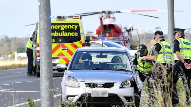 A cyclist has died following a crash north of Gawler. Picture: AAP/ Keryn Stevens