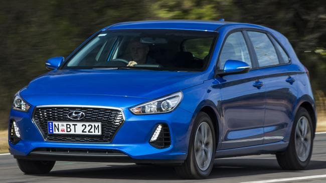 The Hyundai i30 is sharper value than when it launched. Picture: Mark Bean