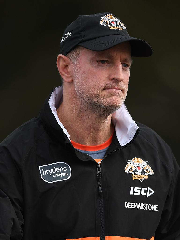 The Tigers are getting restless which puts a lot of pressure on coach Maguire. (AAP Image/Joel Carrett).