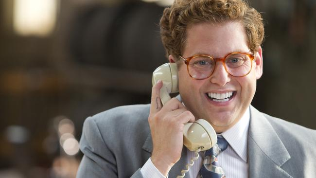 Jonah Hill in a scene from film The Wolf of Wall Street