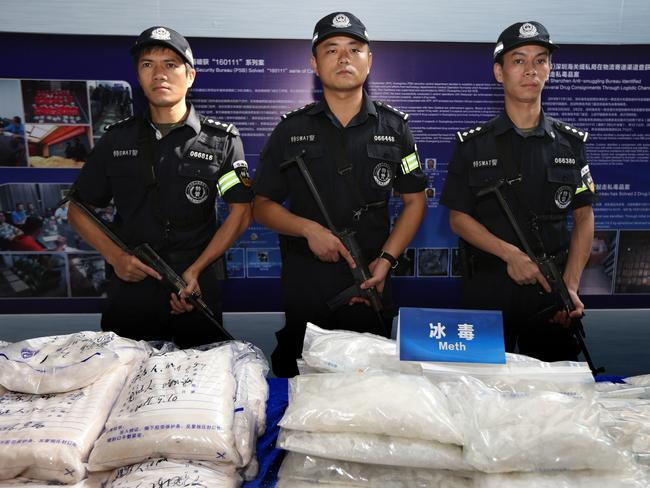 Chinese authorities are cracking down on illegal drugs in the Guangdong province. Picture Gary Ramage