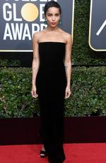 Actor Zoe Kravitz attends The 75th Annual Golden Globe Awards at The Beverly Hilton Hotel on January 7, 2018 in Beverly Hills, California. Picture: Frazer Harrison/Getty Images