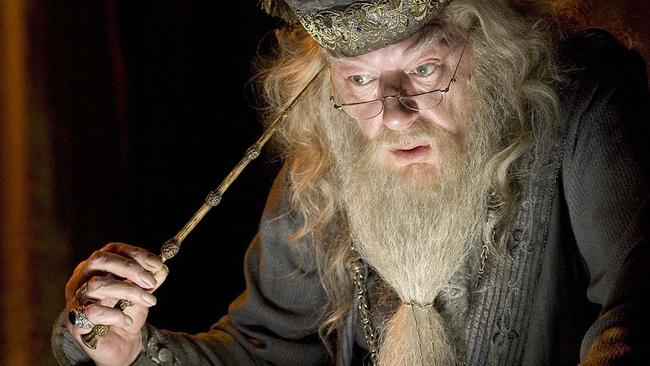 Dumbledore is considerably older in the Harry Potter franchise.