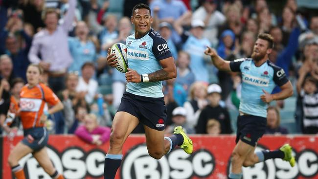 Israel Folau returned to form over the weekend and says the Waratahs must continue to attack in New Zealand.