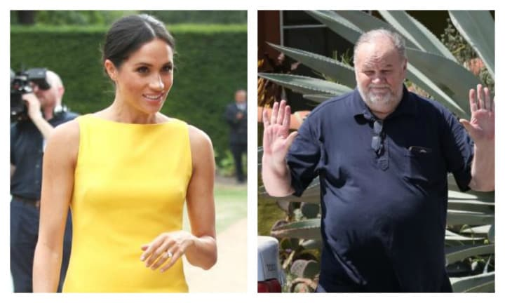 Meghan Markle won't talk to dad Thomas until he stops speaking to the media