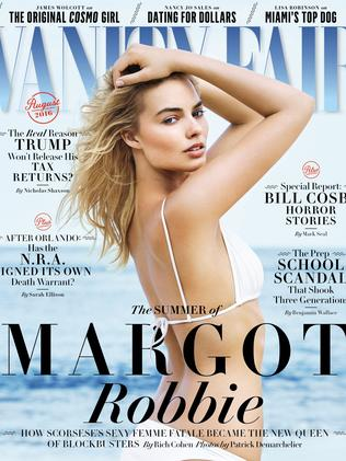 Vanity Fair cover girl ...