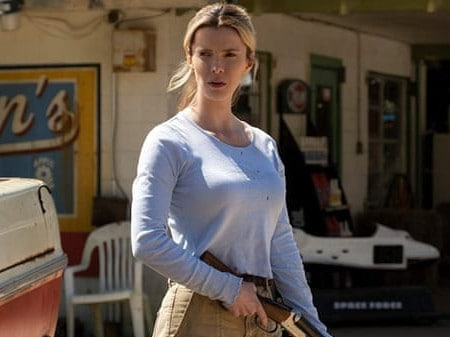 Betty Gilpin in The Hunt. Picture: Universal Pictures