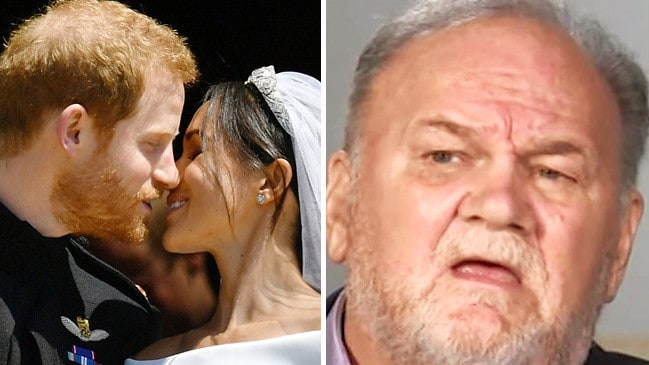 Thomas Markle says he's been treated unfairly by his daughter. Picture: ITV
