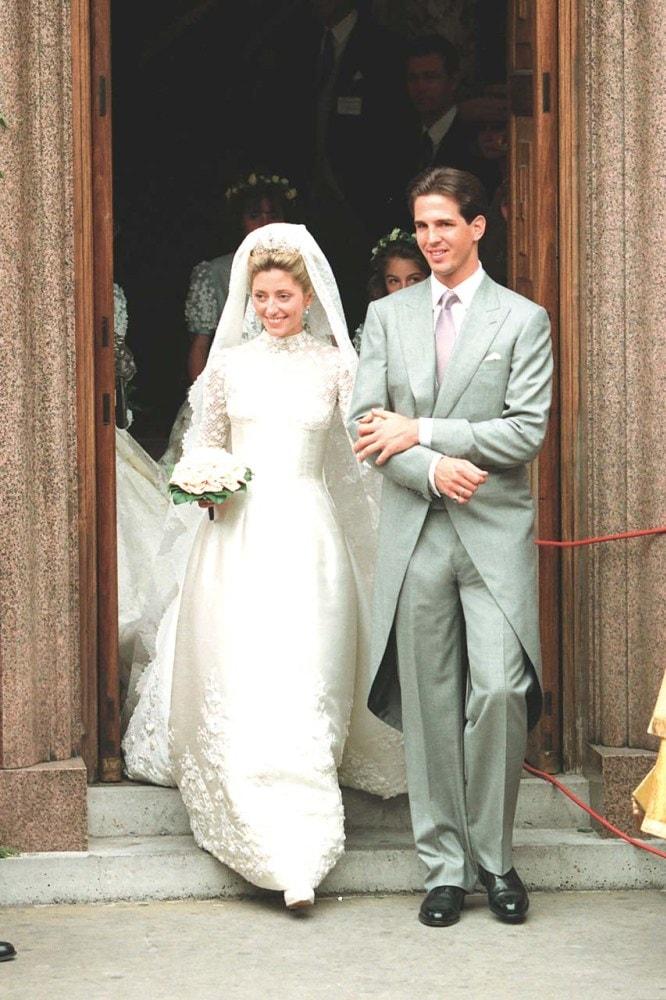 Inside Prince Pavlos of Greece andMarie-Chantal Miller's 1995 wedding