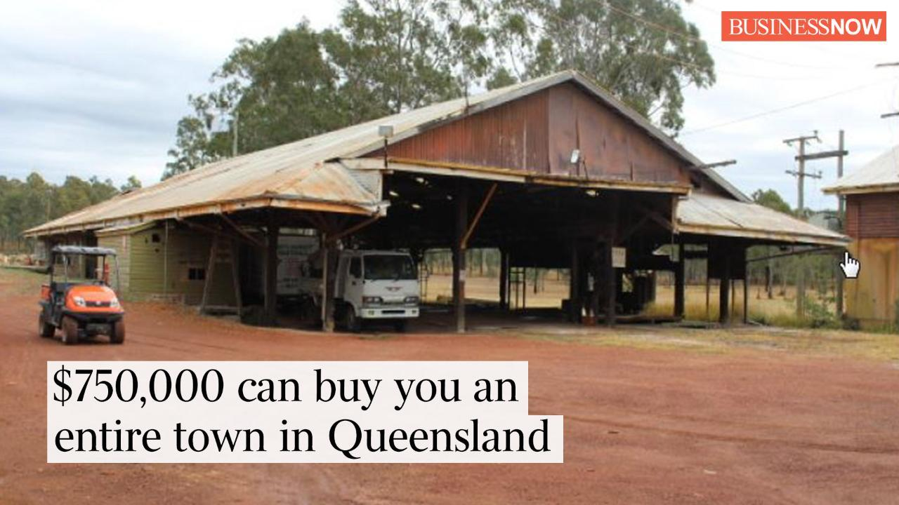 Best Three: $750,000 can buy you an entire town in Queensland