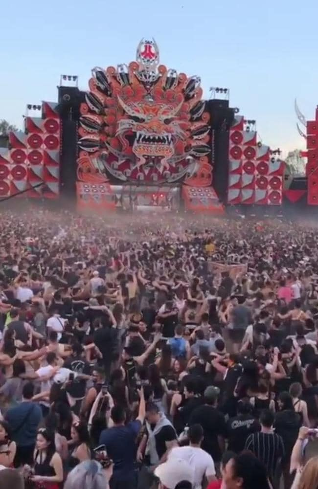 Crowds at last year's Defqon.1 festival. Picture: Instagram