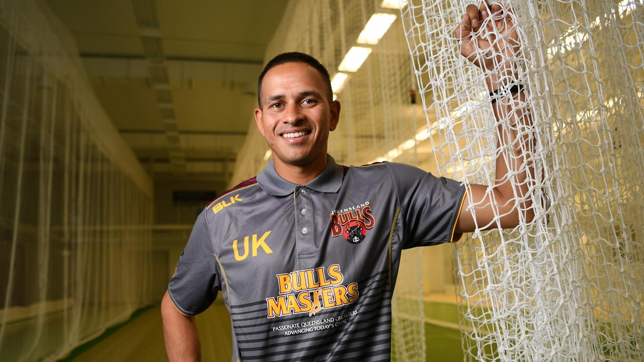 Usman Khawaja is on track to play the first Test against India.