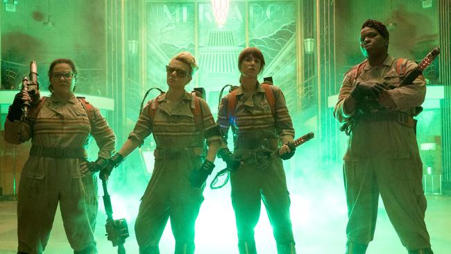 The 2016 all-female Ghostbusters reboot.