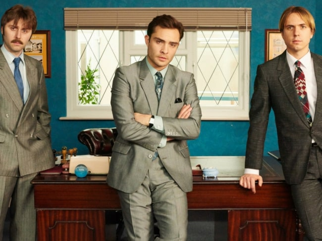 Ed Westwick in TV series White Gold. Photo: BBC Two