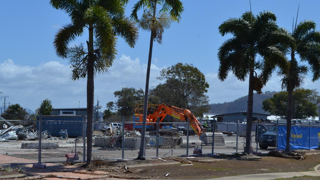 The former offices of the Lancini group at the corner of Woolcock St and Dalrymple Rd, Garbutt, have been levelled in preparation for development.
