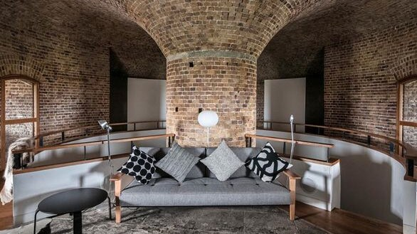 With high vaulted ceilings, the property has a lot of charm. Picture: Rightmove