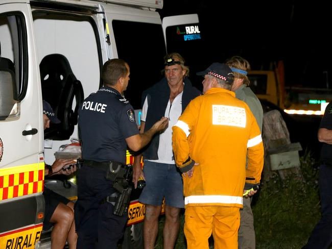 Police have launched a search for a 3-year-old girl who has gone missing on a property at Cootharaba on the Sunshine Coast. Picture: AAP/David Clark