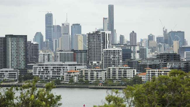 A new survey has found 80 per cent of people would consider buying a new apartment. Picture: Mark Cranitch.
