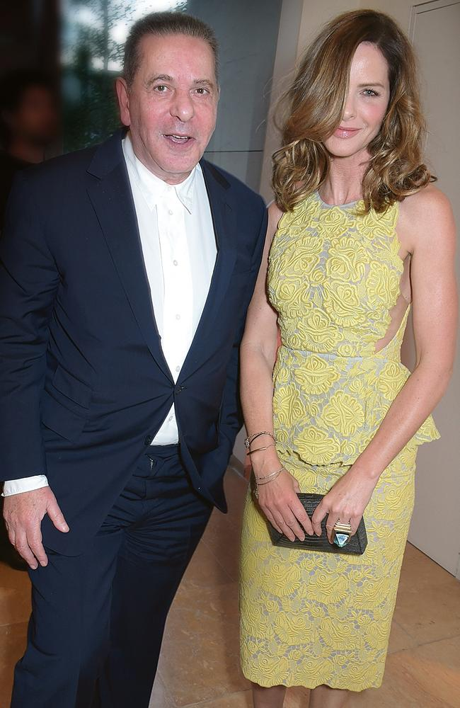 Woodall said she feels like her and Saatchi are an 'old couple'. Picture: Getty Images.