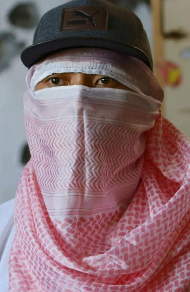 IS fighter Sadam told 60 Minutes he was prepared to kill whoever tried to kill him. Picture: 60 Minutes.