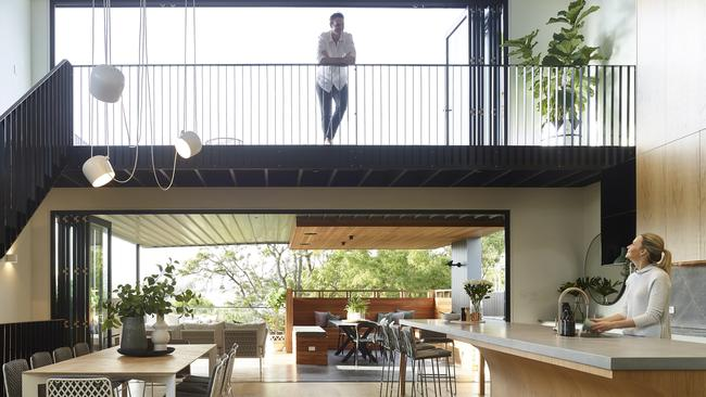The home was built for one of the directors of Graya Construction. Picture: Supplied