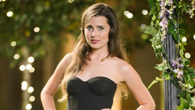 Heather from The Bachelor played the Cool Girl.