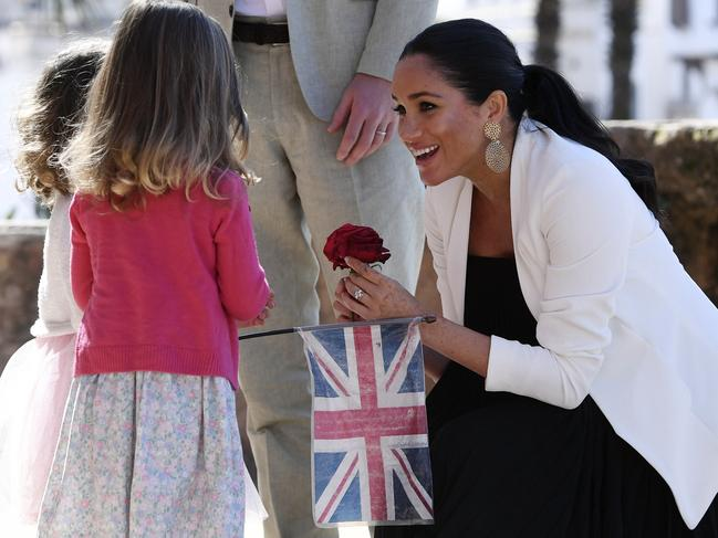 Harry and Meghan recently visited Morocco. Picture: AP