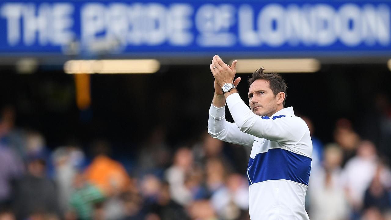 Frank Lampard was unable to capitalise on an emotional return to Stamford Bridge.