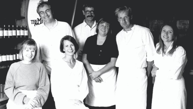 A throwback photo of the LUSH founders. Image: LUSH