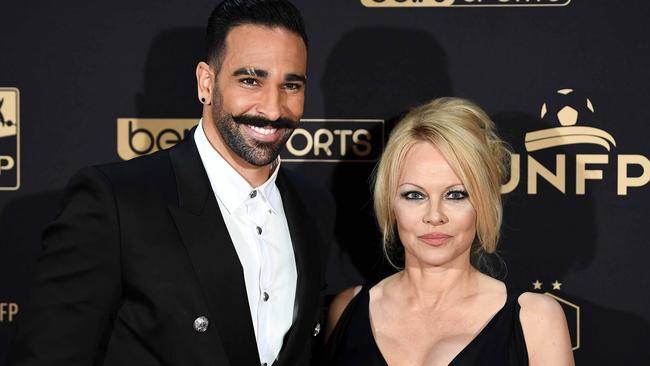 Pamela and Adil Rami's relationship ended very publicly this week. Picture: Franck Fife/AFP