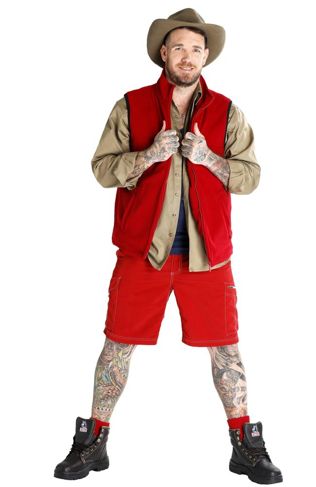 I'm A Celebrity ... Get Me Out Here! contestant Dane Swan Picture: Supplied