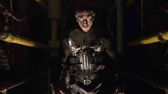 Marvel's The Punisher can be listened to while riding your bike.