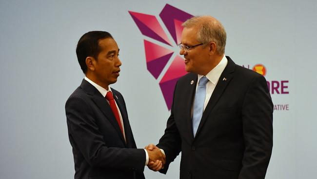 Indonesia is withholding its support for an important free trade agreement with Australia, until the Morrison Government clarifies its position on the embassy.