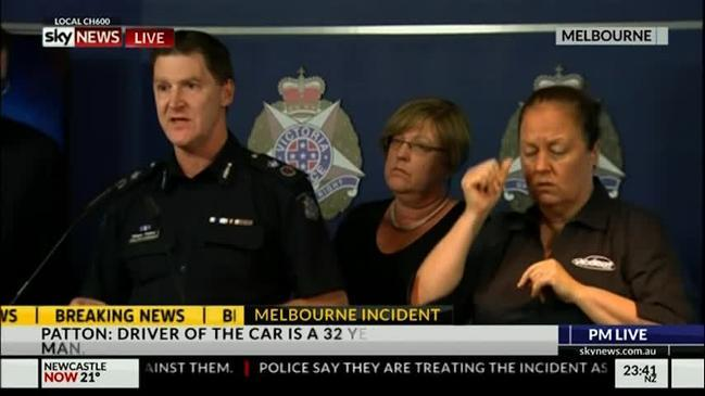 Melbourne Police: 'We don't think this is related to terrorism'