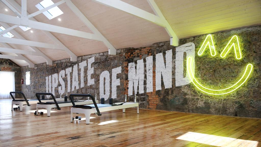 Upstate Box also has reformer pilates upstairs. Picture: Peter Ristevski