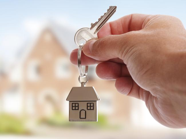 Handing back house keys can be unexpectedly costly for tenants. Picture: Supplied