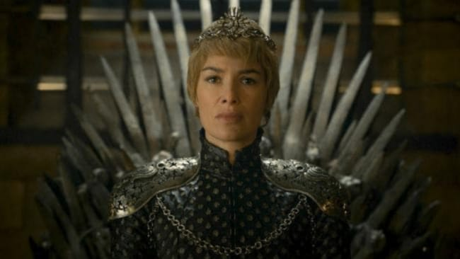 Would Cersei be nicer if there were no men involved? Source: HBO