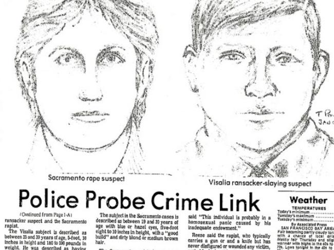 Police probed a link between the Visalia Ransacker and the East Area Rapist but could not find a suspect until decades later.