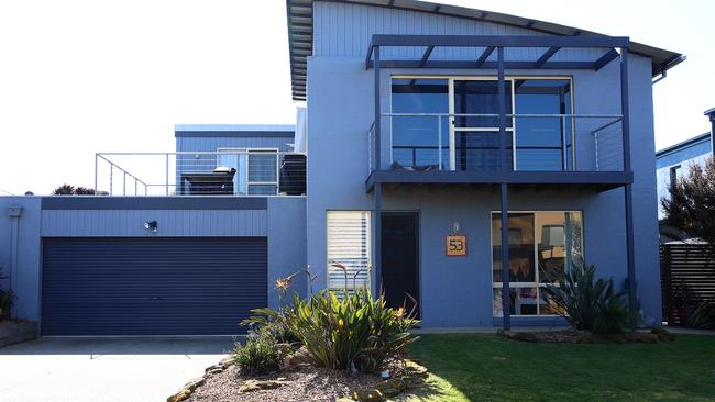 The Ocean Grove home owned by former Liberal Party state director Damien Mantach.