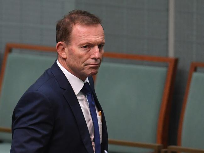 Tony Abbott has already expressed concerns over a possible Clean Energy Target. Picture: Lukas Coch/AAP