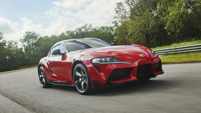 The Toyota Supra was co-ceveloped with BMW.