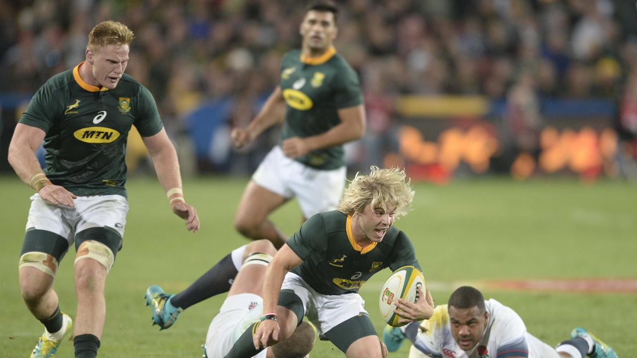 Faf de Klerk has enjoyed a breakout year in Test rugby.