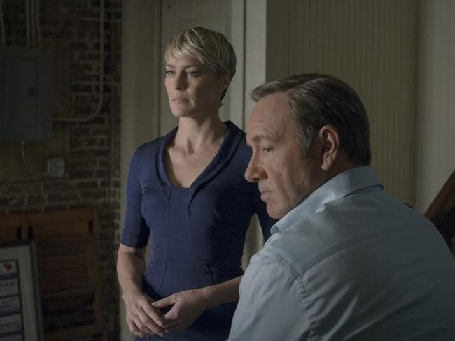 Frank Underwood is probably a psychopath. He doesn't care who gets in the way of his ambitions.