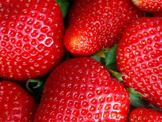 Strawberries landed on top of the EWG 'Dirty Dozen' list.